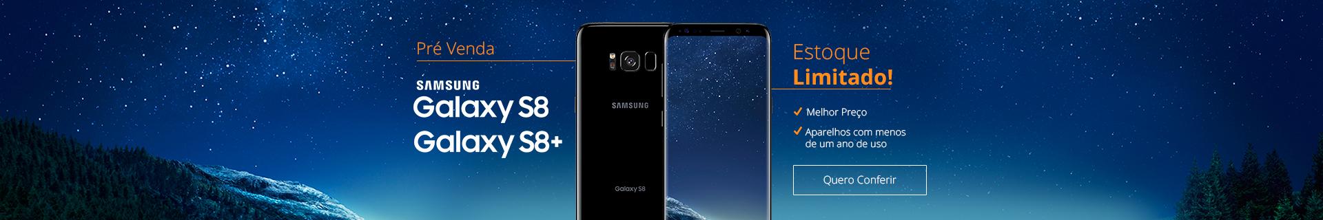 Pré venda Samsung Galaxy S8