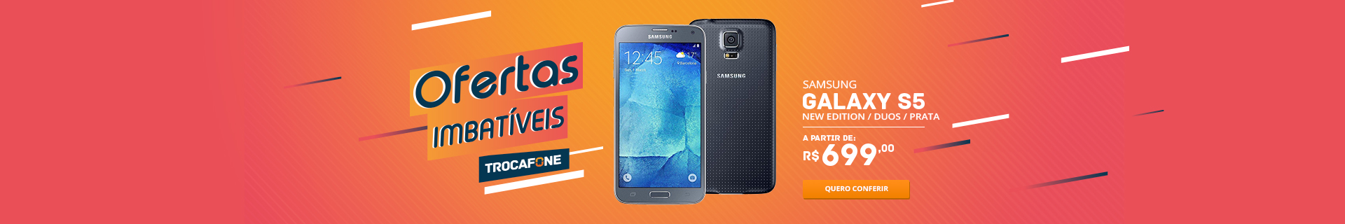 Trocafone | Samsung Galaxy S5 New Edition Duos