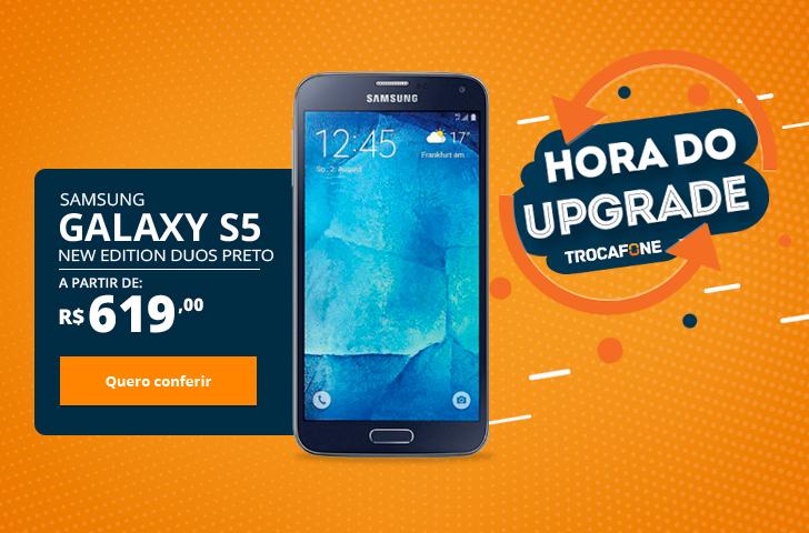 Samsung Galaxy S5 New Edition Duos Preto
