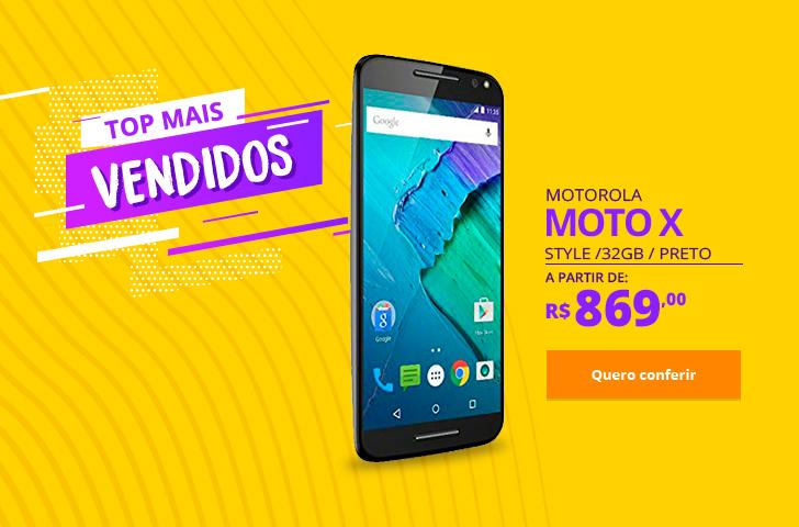 Motorola Moto X Style 32GB Preto