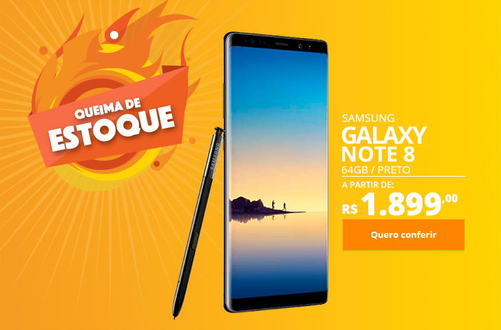 Samsung Galaxy Note 8 64GB Preto
