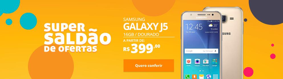 Samsung Galaxy J5 16GB Dourado