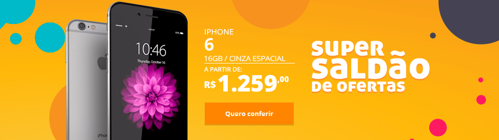 iPhone 6 16GB Cinza Espacial