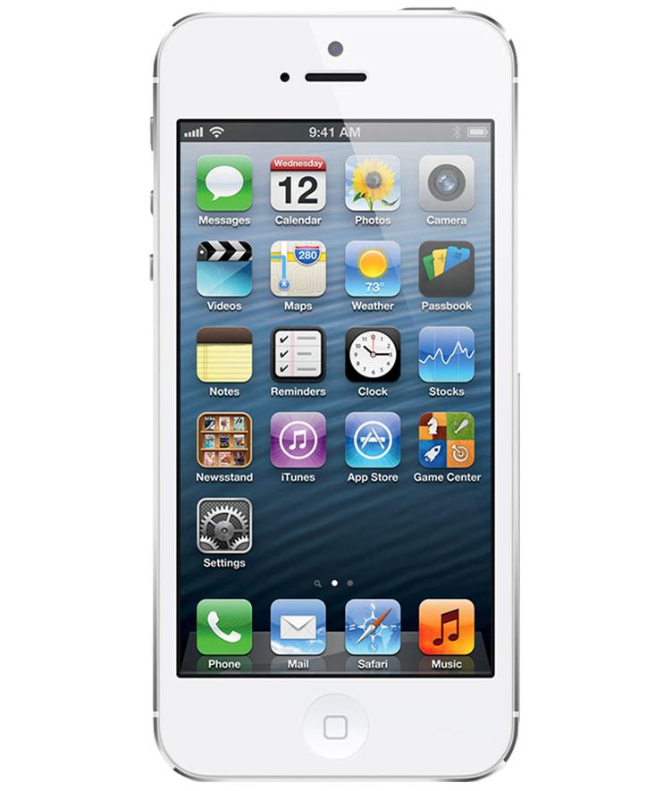 iPhone 5 16GB Branco - 16GB - IOS - Apple A6 Dual Core 1.3 GHz - Tela 4 ´ - Câmera 8MP - Desbloqueado - Recertificado
