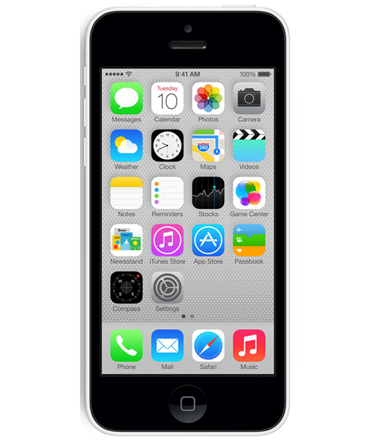 iPhone 5C 16GB Branco - 16GB - IOS - Apple A6 Dual Core 1.3 GHz - Tela 4 ´ - Câmera 8MP - Desbloqueado - Recertificado