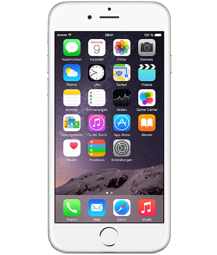 iPhone 6 128GB Prata - 128GB - iOS 8 - 1.4 GHz Dual Core - Tela 4.7 ´ - Câmera 8MP - Desbloqueado - Recertificado