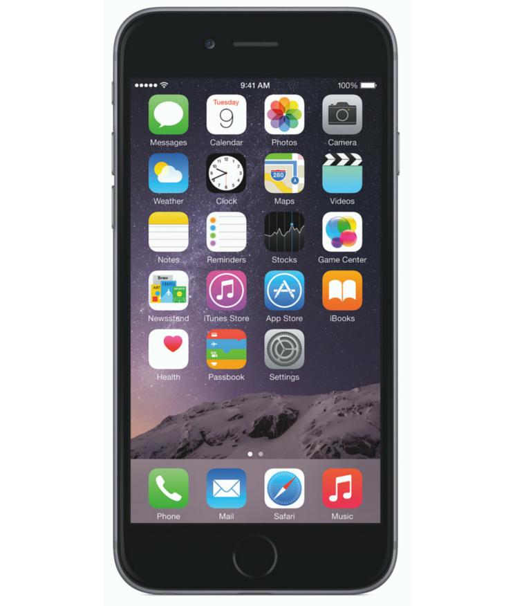 Iphone 6 Plus 16GB Cinza Espacial - 16GB - iOS 8 - 1.4 GHz Dual Core - Tela 5.5 ´ - Câmera 8MP - Desbloqueado - Recertificado