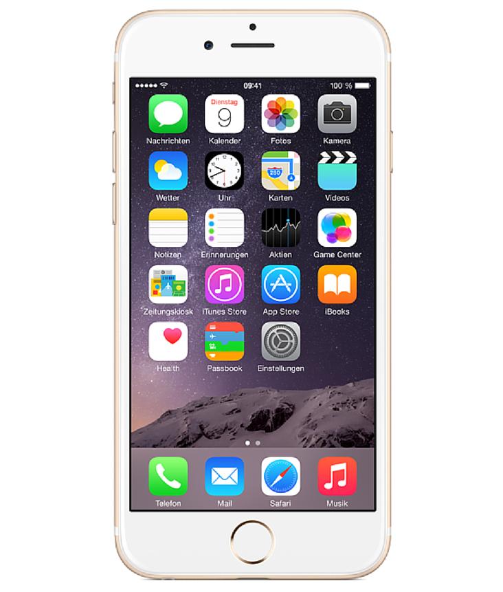 Iphone 6 Plus 16GB Dourado - 16GB - iOS 8 - 1.4 GHz Dual Core - Tela 5.5 ´ - Câmera 8MP - Desbloqueado - Recertificado