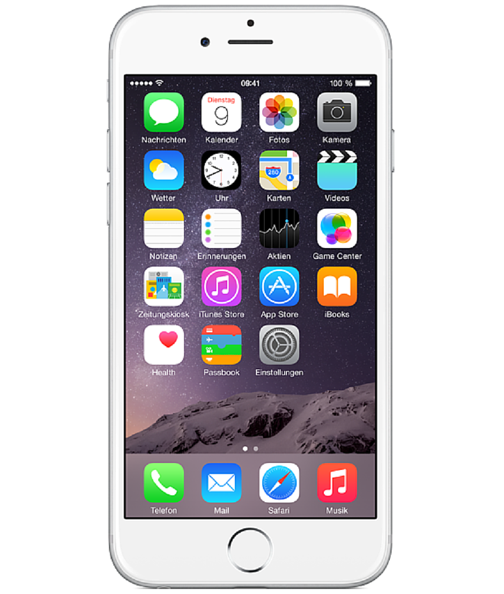 Iphone 6 Plus 128GB Prata - 128GB - iOS 8 - 1.4 GHz Dual Core - Tela 5.5 ´ - Câmera 8MP - Desbloqueado - Recertificado