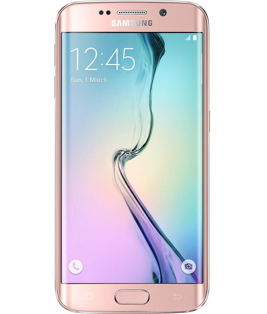 Samsung Galaxy S6 Edge 32GB Rosa - 32GB - Android 5.0 TouchWiz UI Lollipop - Quad - core 1.5 GHz Cortex - A53 + Quad - core 2.1 GHz Cortex - A57 - Tela 5.1 ´ - Câmera 16MP - Desbloqueado - Recertificado