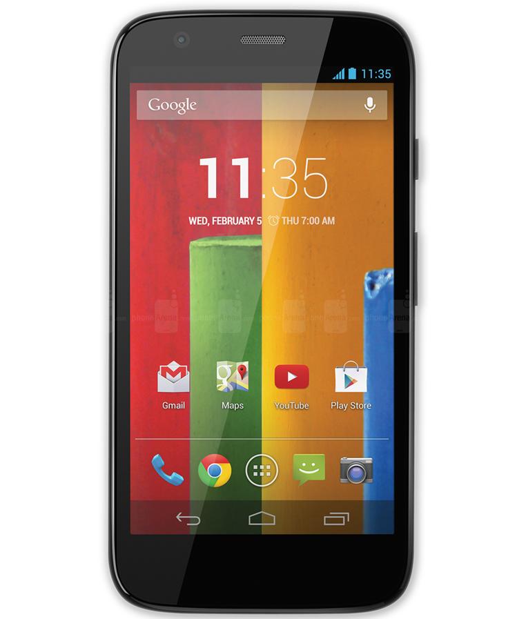 Motorola Moto G1 4G 8GB - 8GB - Android 4.4.3 KitKat - 1.2 GHz Quad Core - Tela 4,5 ´ - Câmera 5MP - Desbloqueado - Recertificado