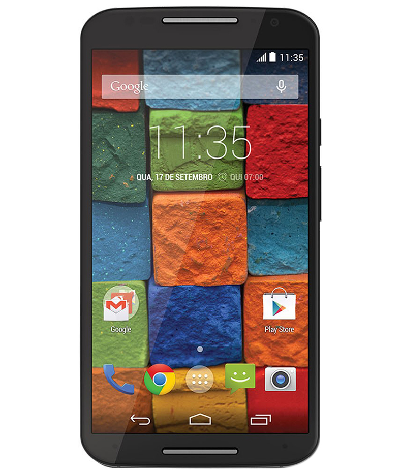 Motorola Moto X2 16GB Preto - 16GB - Android 4.4.4 KitKat - 2.5 GHz Quad Core - Tela 5.2 ´ - Câmera 13 MP - Desbloqueado - Recertificado