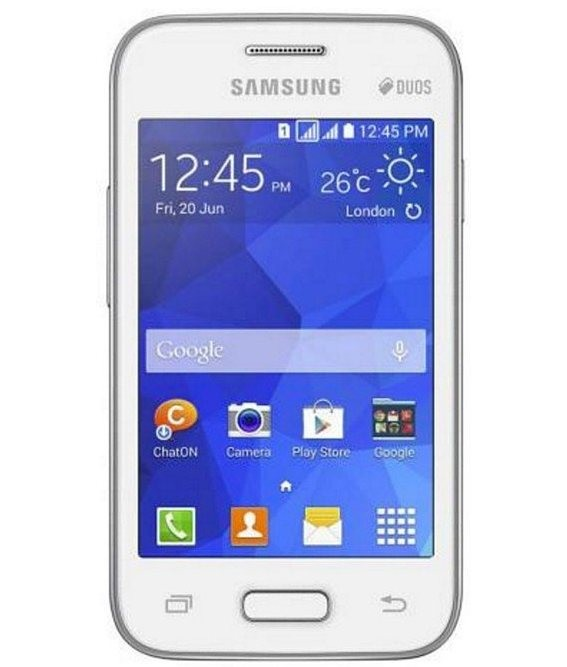 Samsung Galaxy Young 2 Duos TV Branco - 4GB - Qualcomm MSM7225A / ARM Cortex - A5 - Tela 3.3 ´ - Desbloqueado - Recertificado