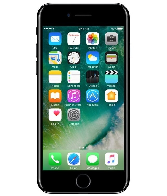 Promoção iPhone 7 256GB Preto Brilhante Seminovo Muito Bom iPhone