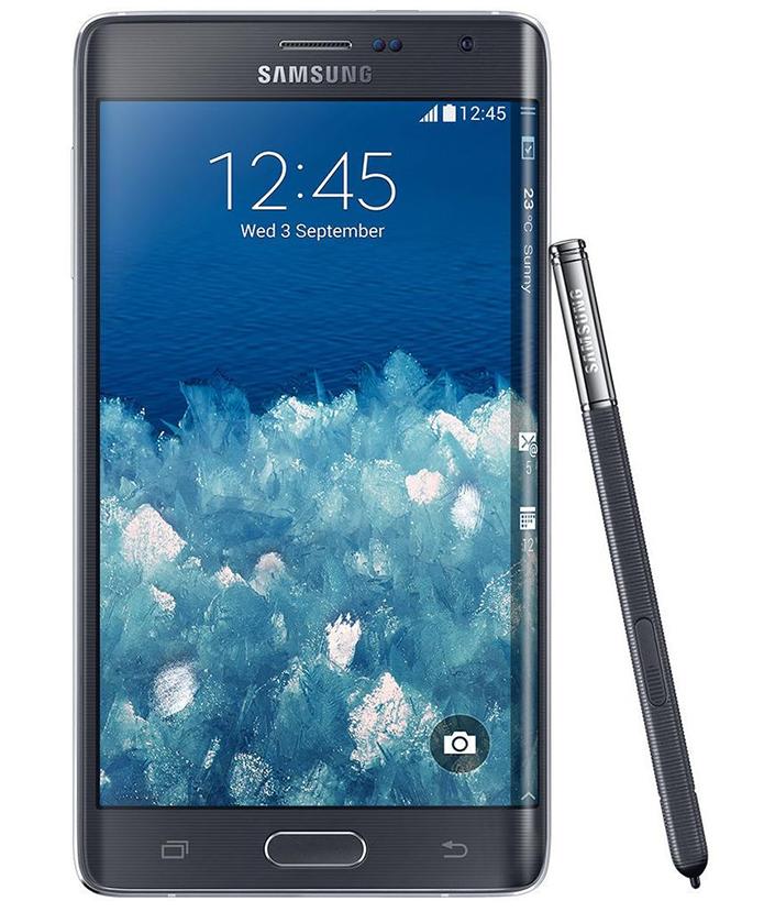 Samsung Galaxy Note Edge Preto - 32GB - 2.7 GHz Quad Core - Tela 5.6 ´ - Câmera 16MP - Desbloqueado - Recertificado