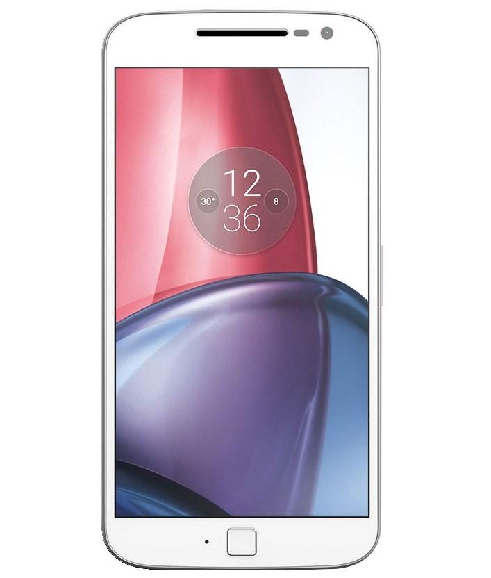 Motorola Moto G4 Plus Branco Vermelho - 32GB - Desbloqueado - Recertificado
