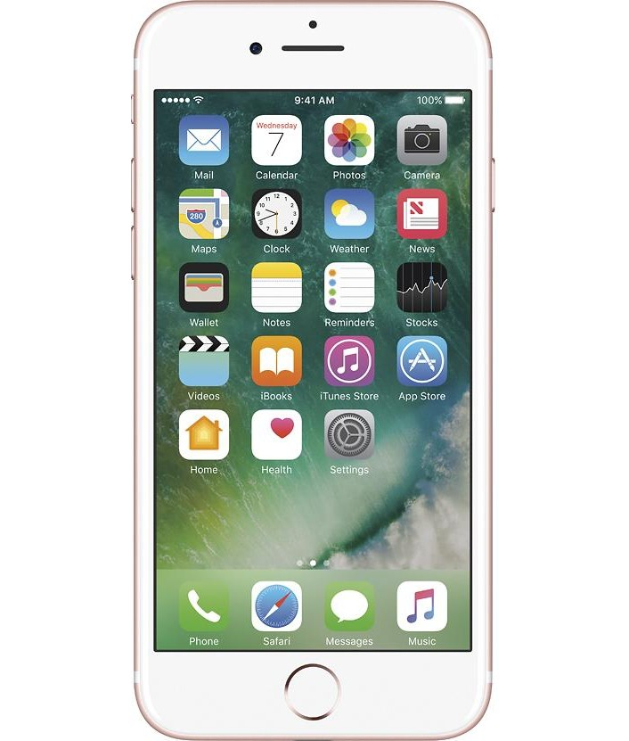 iPhone 7 Plus 128GB Dourado - 128GB - iOS 10 - Apple A10 - Tela 5.5 ´ - Câmera 12 MP - Desbloqueado - Recertificado