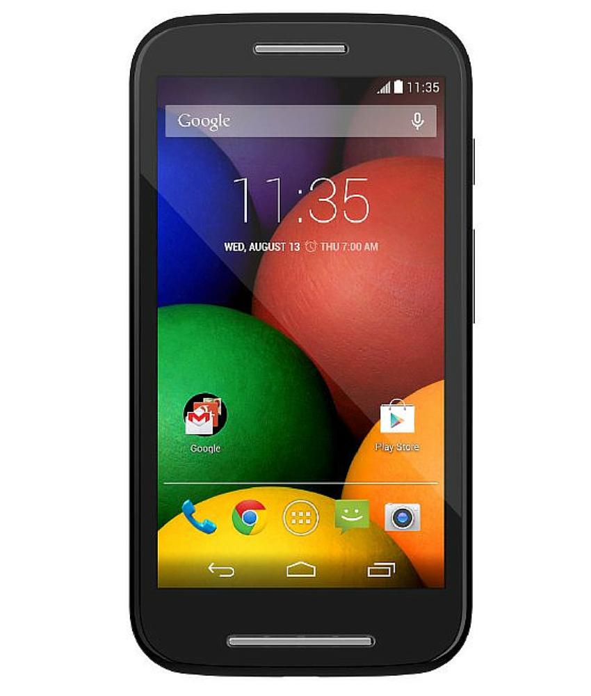 Motorola Moto E1 4GB Dual Preto - 4GB - Desbloqueado - Recertificado