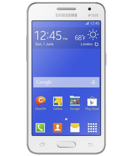 Samsung Galaxy Core 2 Duos Branco - 4GB - 1.2GHz - Tela 4,5 ´ - Desbloqueado - Recertificado