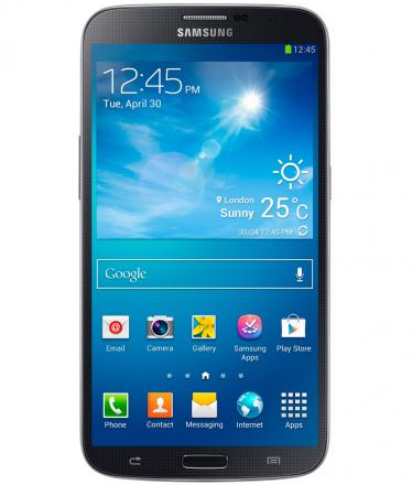 Samsung Galaxy Mega Duos Preto