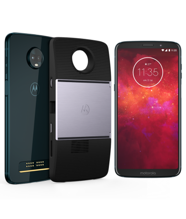 Moto Z3 Play Projector Edition 64GB Indigo