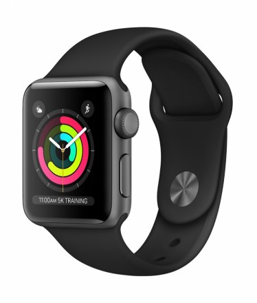 Apple Watch Series 3 38MM GPS Cinza Espacial