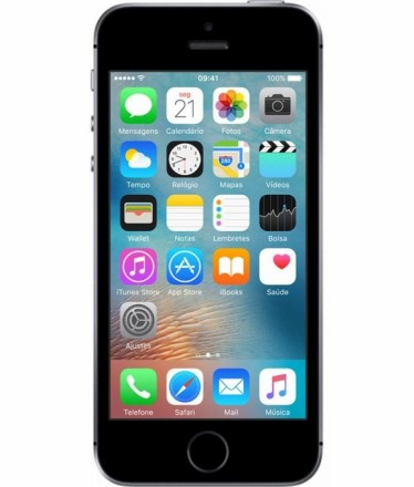 iPhone SE 16GB Cinza Espacial