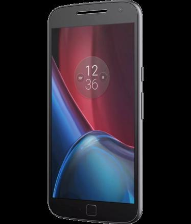 Motorola Moto G4 Plus Preto Vermelho