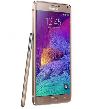 Samsung Galaxy Note 4 Dourado