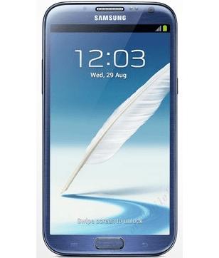 Samsung Galaxy Note II N7100 Azul