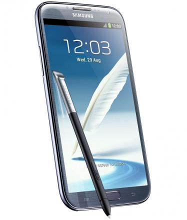 Samsung Galaxy Note II N7100 Cinza