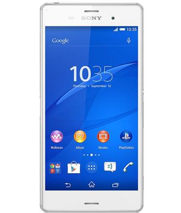 Sony Xperia Z3 TV Branco