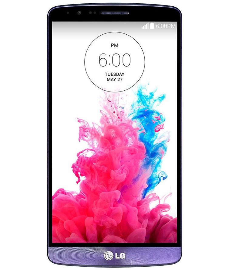 LG G3 D855 Roxo - 16GB - Android 5.0 LG Optimus UI v3.0 Lollipop - 2.5 GHz Quad Core - Tela 5.5 ´ - Câmera 13 MP - Desbloqueado - Recertificado