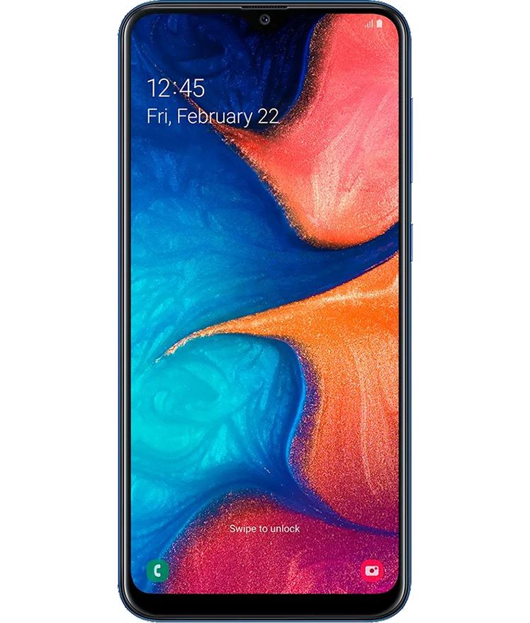 Samsung Galaxy A20 32GB Azul