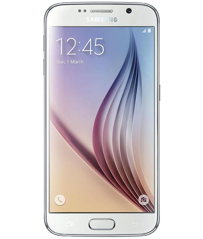 Samsung Galaxy S6 Flat Branco - 32GB - Android 5.0 TouchWiz UI Lollipop - Quad - core 1.5 GHz Cortex - A53 + Quad - core 2.1 GHz Cortex - A57 - Tela 5.1 ´ - Câmera 16MP - Desbloqueado - Recertificado