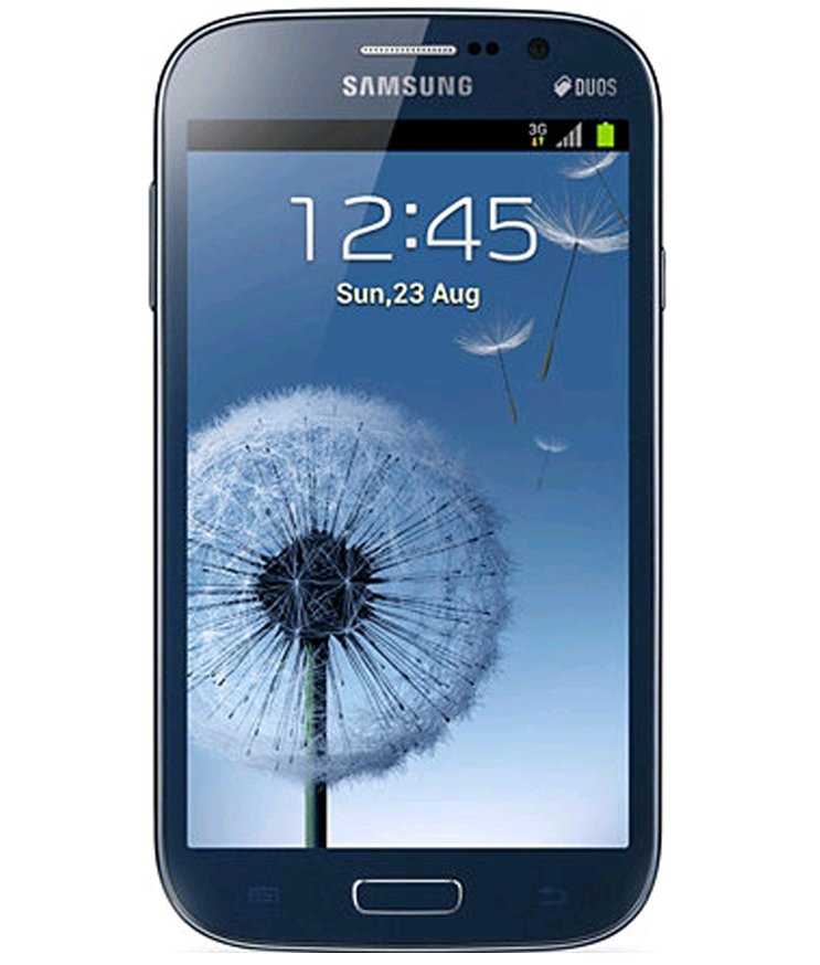 Samsung Galaxy Grand Duos i9082 Azul - 8GB - Android 4.1 Jelly Bean - 1.2 GHz Dual Core - Tela 5.0 ´ - Câmera 8MP - Desbloqueado - Recertificado