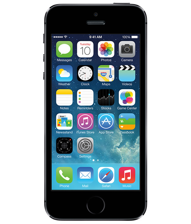iPhone 5S 16GB Cinza Espacial - 16GB - IOS - Apple A7 Dual Core 1.3 GHz - Tela 4 ´ - Câmera 8MP - Desbloqueado - Recertificado
