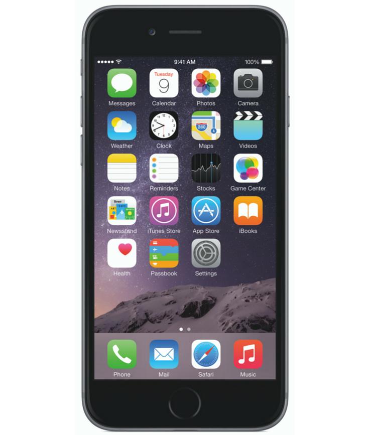 iPhone 6 128GB Cinza Espacial - 128GB - iOS 8 - 1.4 GHz Dual Core - Tela 4.7 ´ - Câmera 8MP - Desbloqueado - Recertificado
