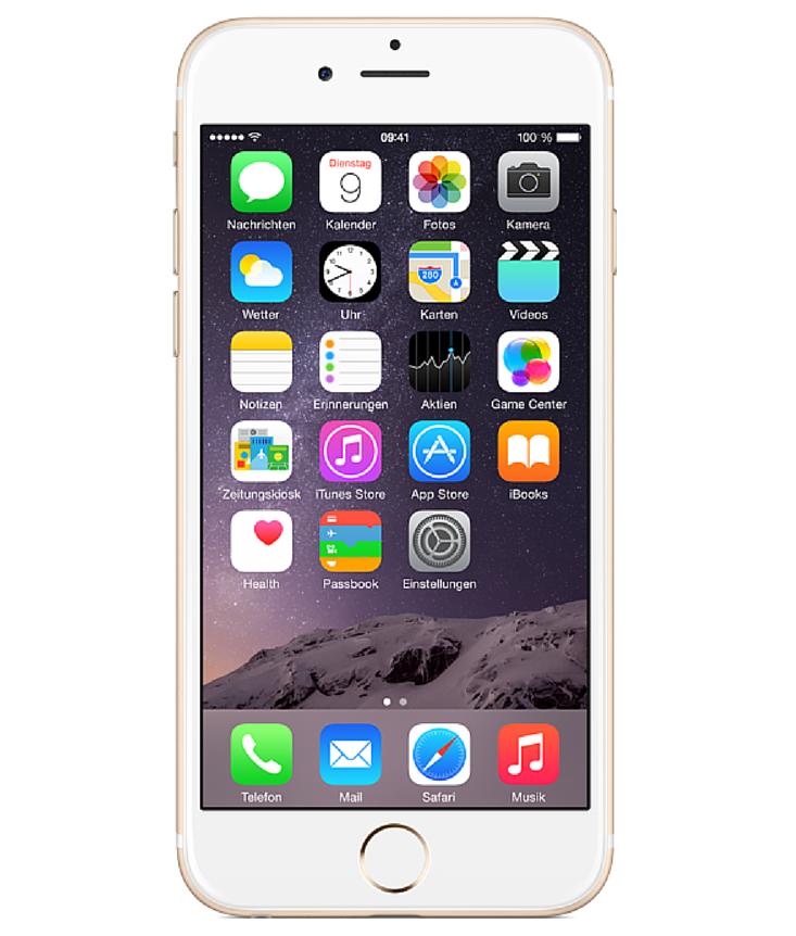 iPhone 6 128GB Dourado - 128GB - iOS 8 - 1.4 GHz Dual Core - Tela 4.7 ´ - Câmera 8MP - Desbloqueado - Recertificado