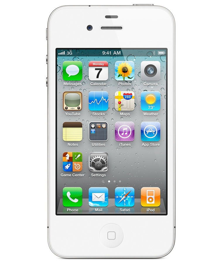iPhone 4G 8GB Branco