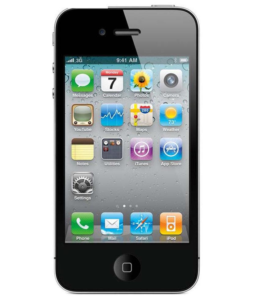 iPhone 4G 8GB Preto