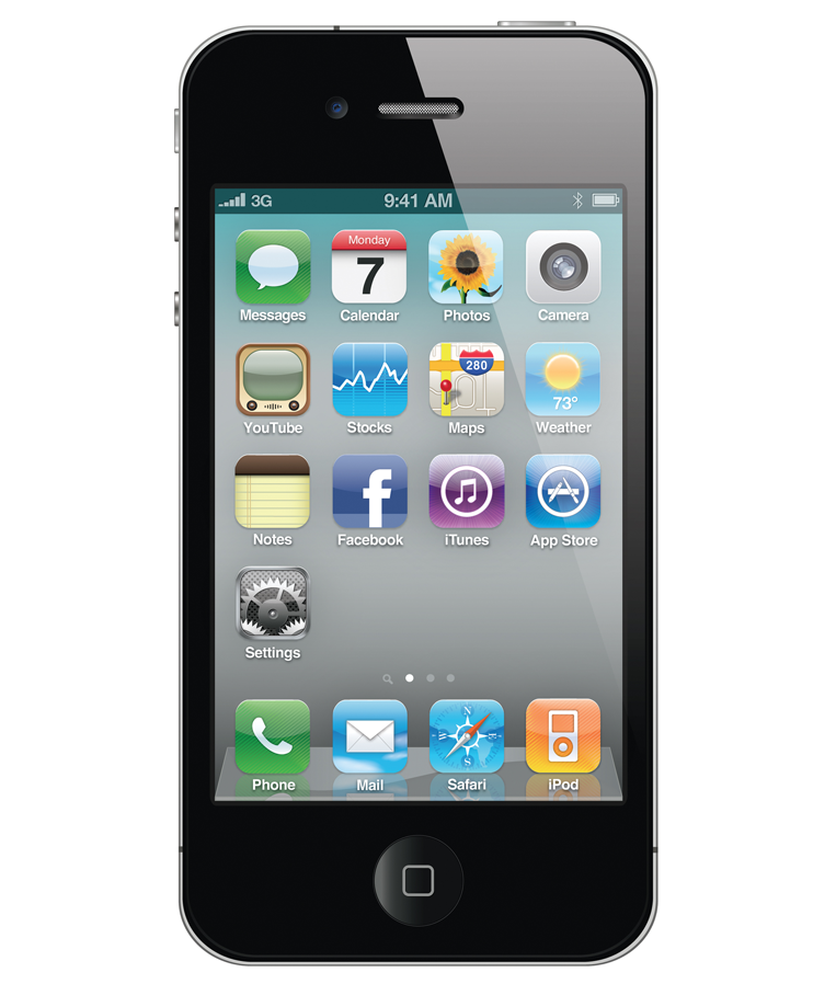 iPhone 4S 64GB Preto Seminovo Bom