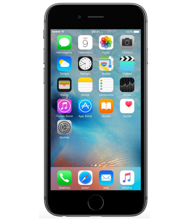 Iphone 6S 16GB Cinza Espacial