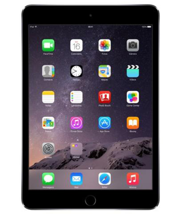 Ipad Mini 3 Wi-Fi 128GB Cinza Espacial