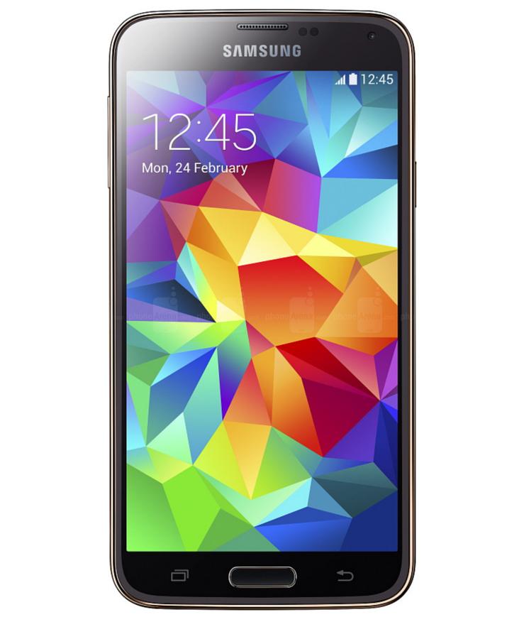 Samsung Galaxy S5 Dourado Seminovo Bom