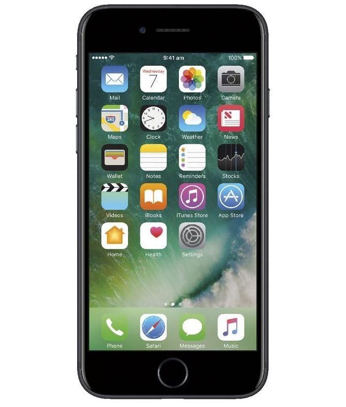 iPhone 7 128GB Preto Matte Seminovo Muito Bom