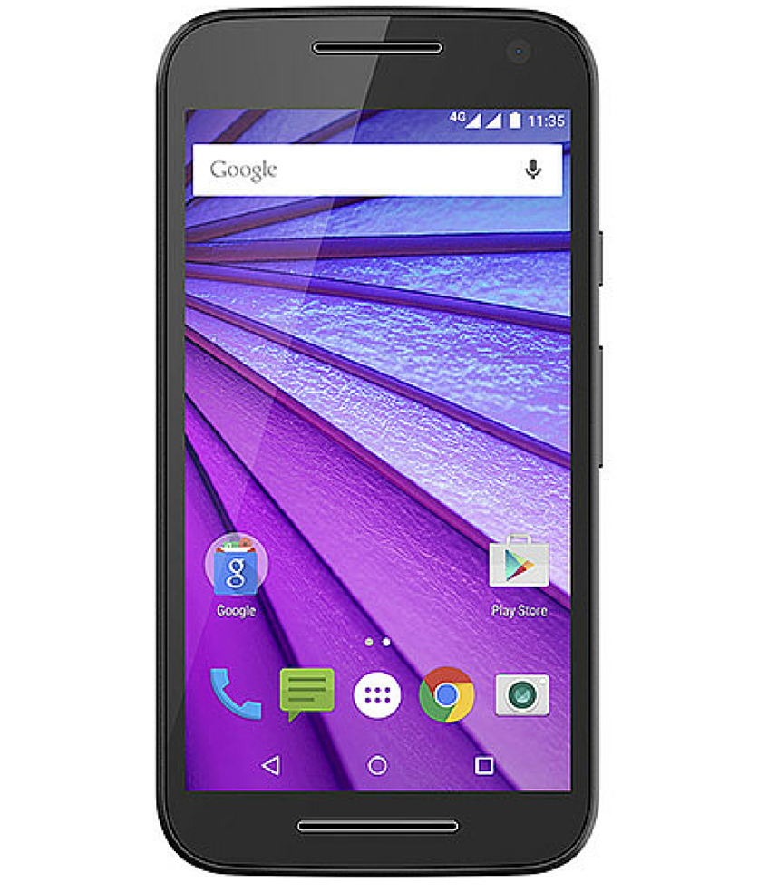 Motorola Moto G3 16GB 4G Dual HDTV Preto Verde Seminovo Muito Bom