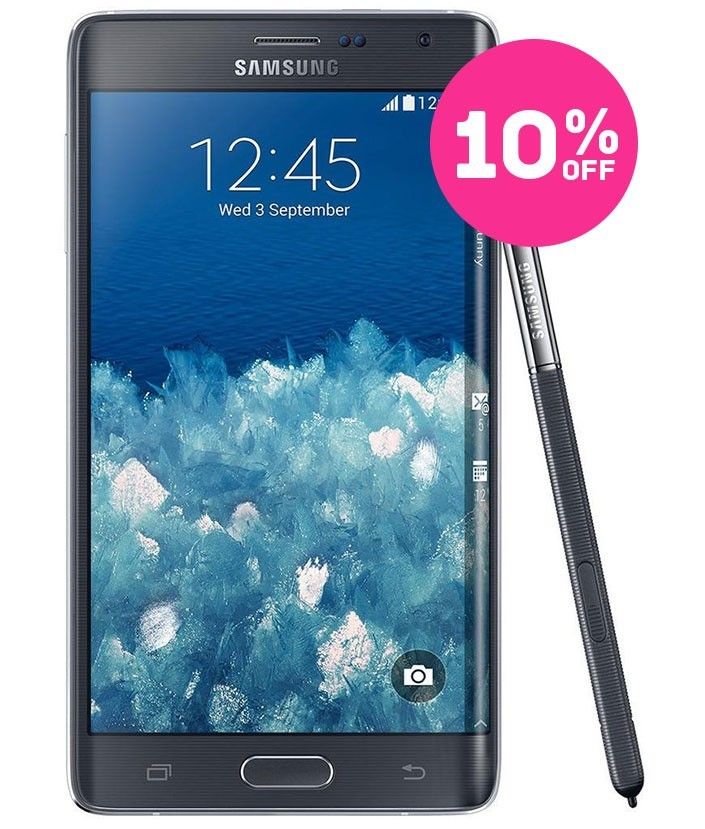 Samsung Galaxy Note 4 Edge Preto