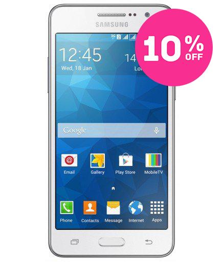 Samsung Gran Prime Duos TV Branco