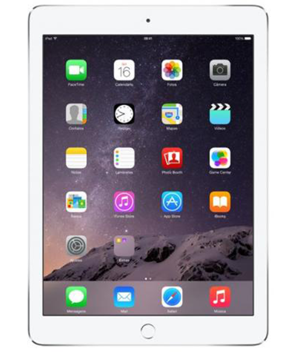 iPad Air 2 Wi-Fi + 4G 128GB Prateado
